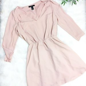 Forever 21 | Pink V-Neck Dress | S